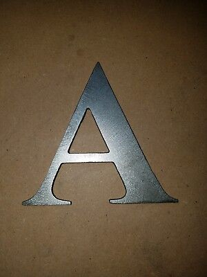 Metal House or Street Address Number or letter cutouts. crafts wedding cnc steel (Letter Cutouts)