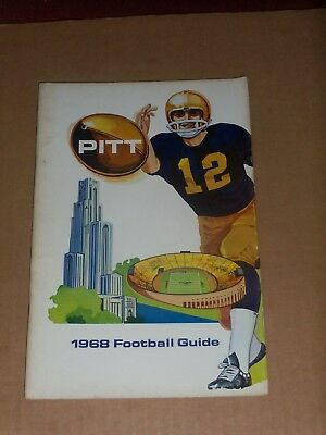 1968 Pitt Panthers  Football Media Guide  Complete