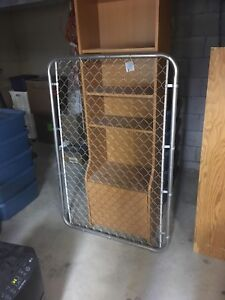 5' galvanized chain link fence gate