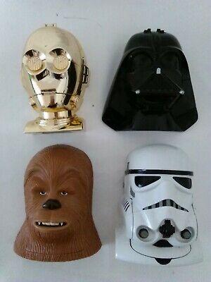 Star Wars Micro Machines Heads ** FREE P&P **