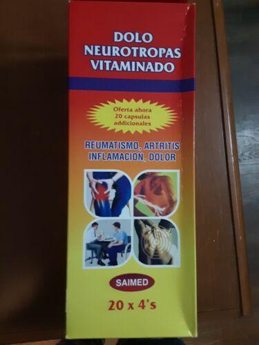 Dolo Neurotropas Vitaminado 25 Packs Of 4 Pills 1