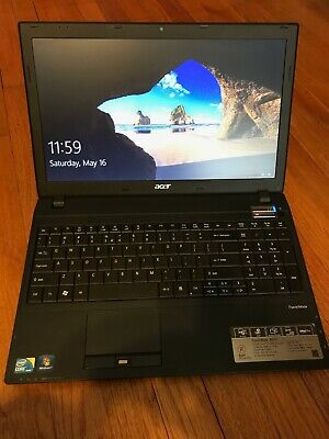 "Acer TravelMate 8572. 15.5"",  i7 2.80 GHz, 4GB, EVO 250 SSD,  Win 10 Pro"
