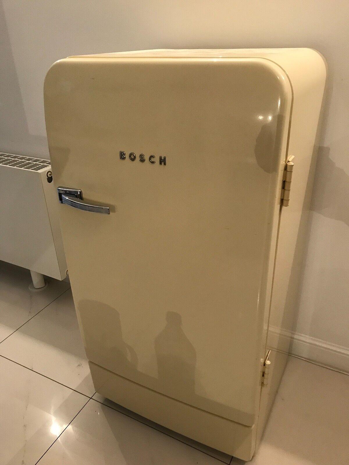 Retro Kühlschrank Classic Edition Farbe Vanille