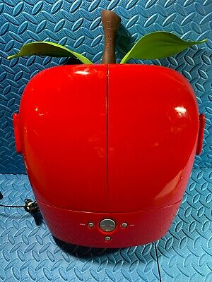 """Hannspree Red Apple 9"""" Lcd Tv 2005 With Power Cord Novelty"""