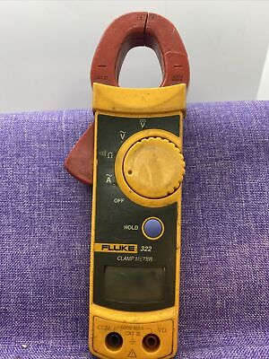 Fluke 322 Clamp Meter For Partsnot Working