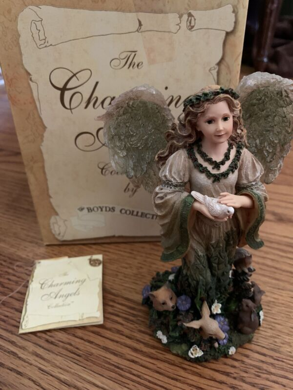 The Charming Angels Collection By Boyds Floramella Figure #28216 NEW