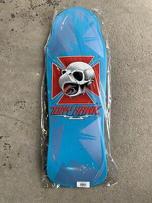 Powell Peralta Bones Brigade Tony Hawk Blue VCJ Chicken Skull Skateboard Deck