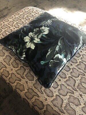 House Of Hackney Medium Limerance Cushion Velvet Ink