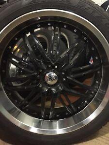 4  Falken Ziex S/TZ 05 tires on alloy wheels