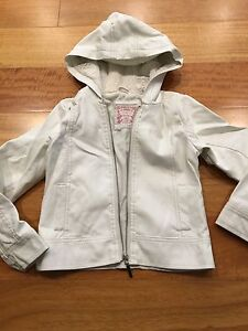 Girls Leather Look jacket size 7 Taylors Lakes Brimbank Area Preview