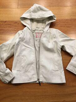 Girls Leather Look jacket size 7