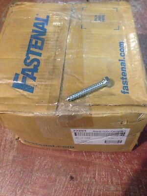 Fastenal  Qty 650  3 8  X 2 1 2  Hex Head Lag Screw Bolt Zinc Plated Bulk 22263