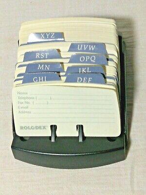 Rolodex Card File Open Business Card File Holder