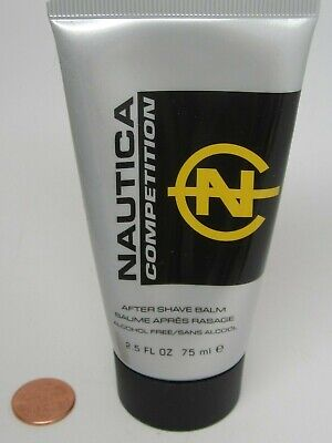 NAUTICA COMPETITION MEN AFTER SHAVE BALM 2.5oz/75mlSpray UNBOX FULL DISCONTINUED