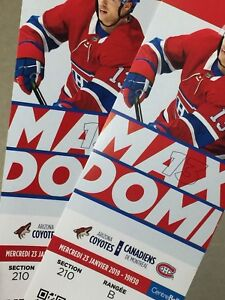 Montréal Canadiens Hockey Tickets