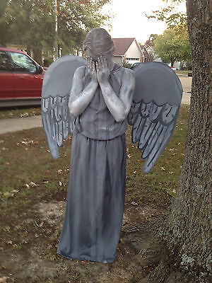 Doctor Who Weeping Angel Statue Costume Handmade Inspired DRESS Dr Who S M L