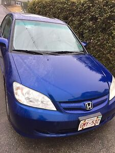 Reduced. 2005 Honda Civic SI