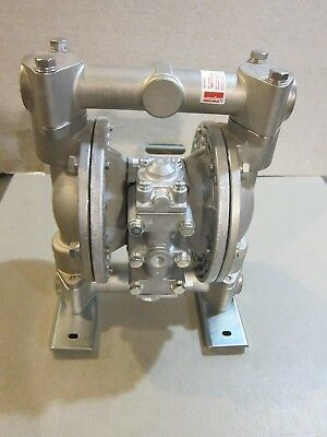 New- Dayton 6py55a 1 Stainless Steel Air Double Diaphragm Pump -free Shipping