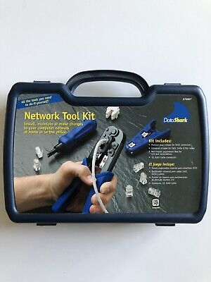 DataShark Network Tool Kit - Includes Crimper, Cable Stripper, Punch Down Tool