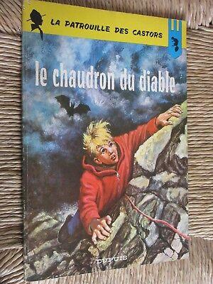 MITACQ LA PATROUILLE DES CASTORS LE CHAUDRON DU DIABLE N°14 de 1966  EO