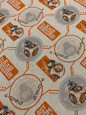 Star Wars BB8 Droid Fabric Quilting Disney
