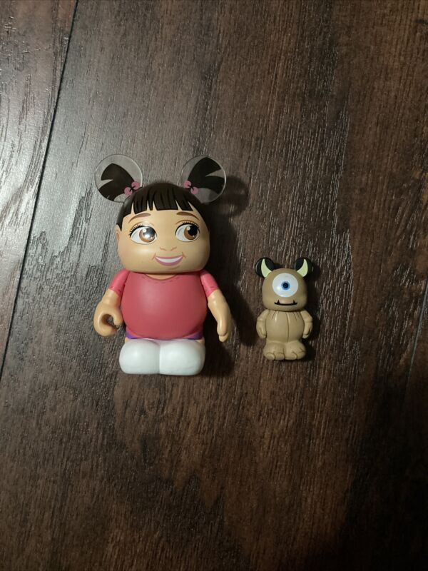 Disney Vinylmation Figurine Pixar Series 2 Boo With Little Mikey
