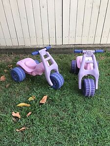 Plastic kids/toddler trikes Banyo Brisbane North East Preview