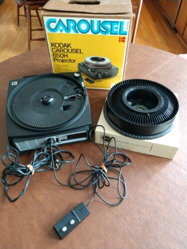 Kodak Carousel 650H Slide Projector