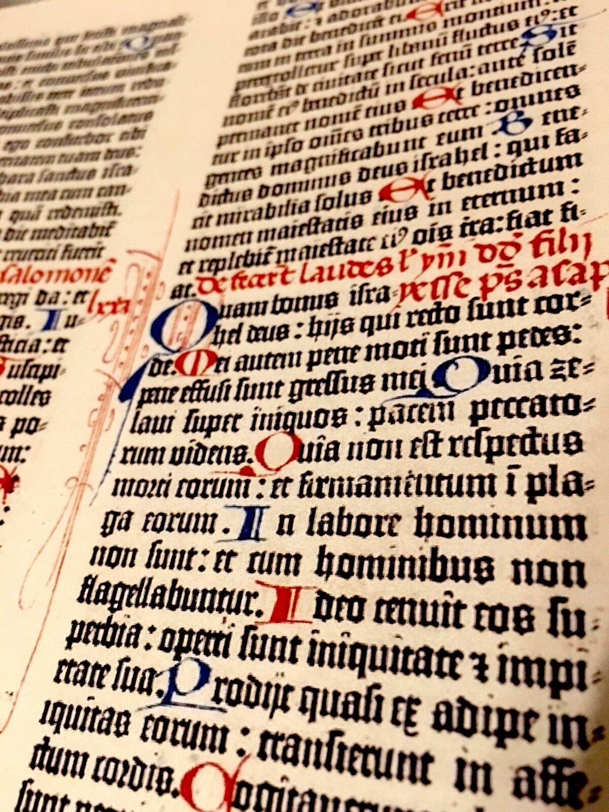 Gutenberg Bible, Bavarian State Library version, Facsimile