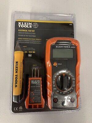 Klein Tools Electrical Test Kit 69149 Cat Iv 1000v Manual-ranging Digital Mm300