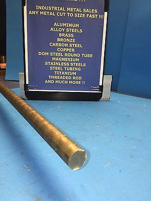 34dia X 12-long 954 Bronze Round Bar--.750 Diameter 954 Bronze Round Rod