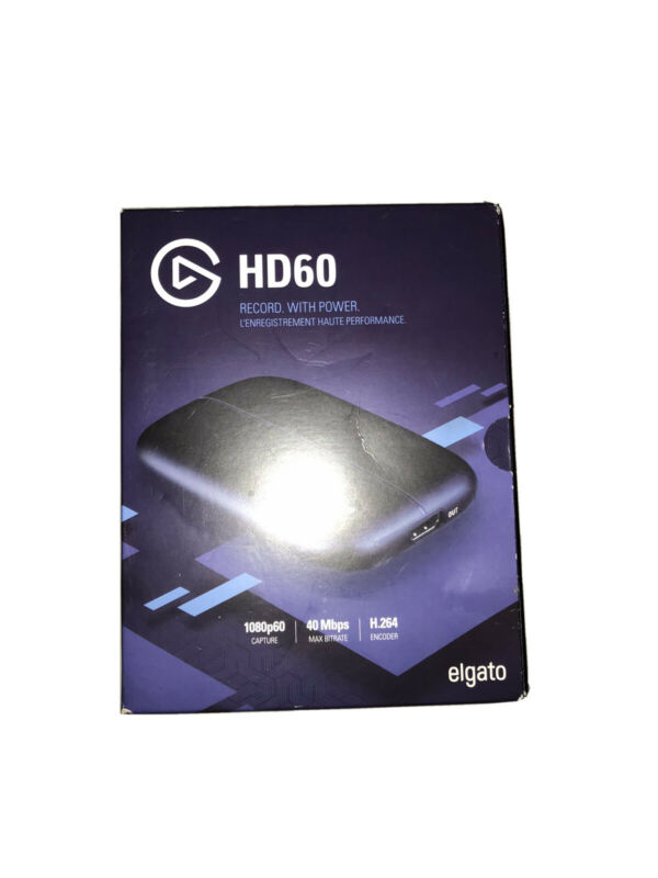 elgato hd60 game capture recorder