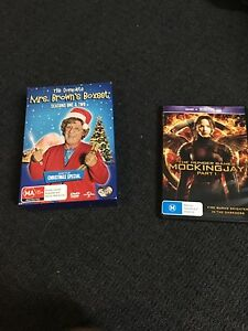 Mrs browns boxset and hunger games DVD Newcastle Newcastle Area Preview