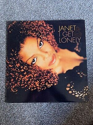 """Janet Jackson I GET LONELY 12"""" Vinyl Single Excellent Condition"""
