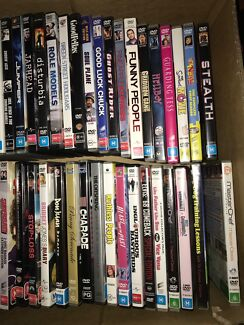 Assorted DVDs - comedy, action, drama, animations - over 170 DVDs