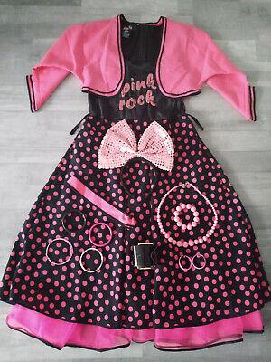 Kostüm Pink Rock Gr. 38, Mottoparty, Karneval, Fasching, im Stil der 50er - 50er Jahre Stil Kostüm