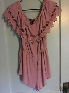 Size small off the shoulder romper