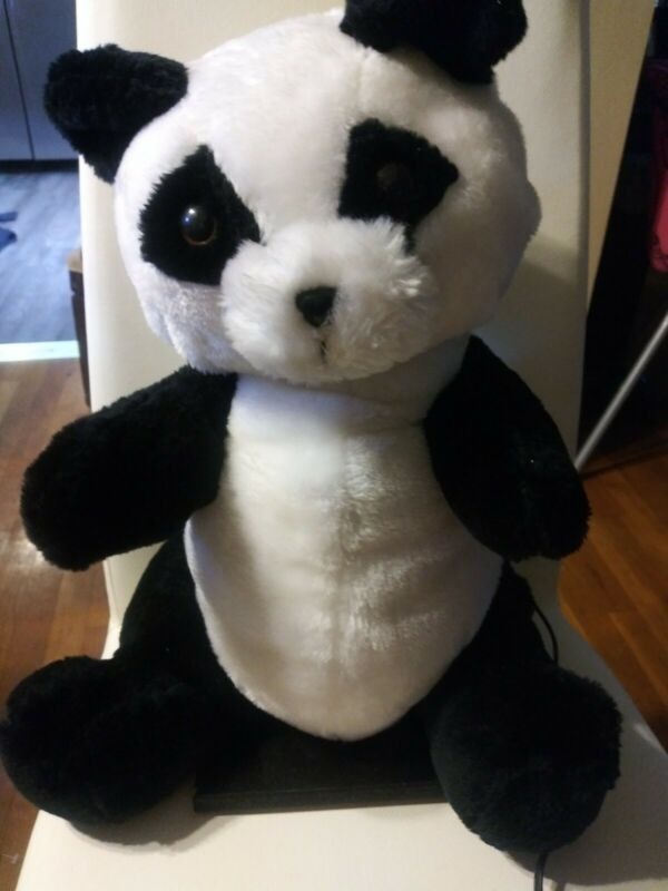 Animated Electronic Moving Panda Bear Plush Lifelike Prop Quiet Motor