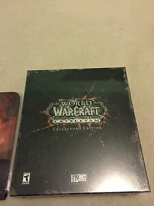 *Never Open* World of Warcraft: Cataclysm Collector's Edition