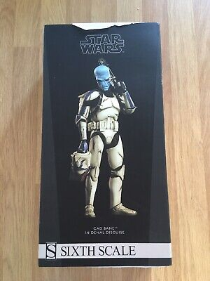 Sideshow Cad Bane / Denal Star Wars The Clone Wars 1/6 Scale Figure