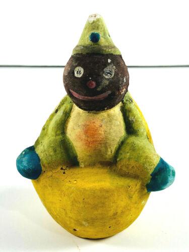Antique German Lemon Veggie Man Halloween Candy Container