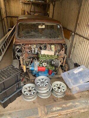 Austin Morris MK3 Mini Cooper S replica 11 stud engine project Barn find
