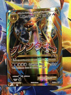 Pokemon Mega M Charizard EX 101/108 FULL ART Ultra Rare XY Evolutions Near Mint