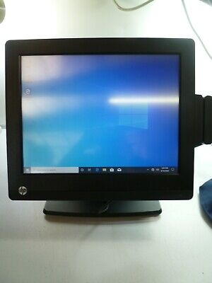 Hp Retail Rp7 Rp7800 17 Core I3-2120 3.3ghz 8gb 128gb Ssd Touchscreen Pos Syst