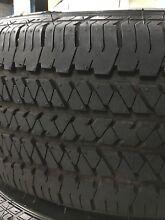 Used Bridgestone 255 60 18 Vw amarok genuine tyres 99% Blakehurst Kogarah Area Preview