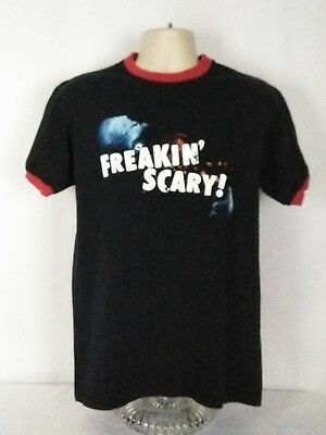 Universal Orlando Medium Freakin Scary Halloween Horror Nights 2004 Tee T-Shirt
