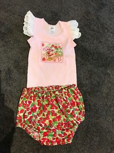 Toddler Strawberry Shortcake outfit