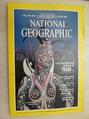 National Geographic- THE FASCINATING WORLD OF TRASH - APRIL 1983
