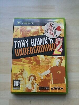 Tony Hawk's Underground 2 Microsoft Xbox Original Game