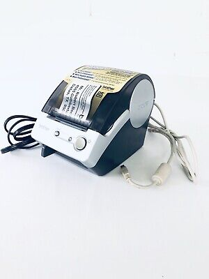 Brother Ql-500 Label Thermal Printer With Power Cable And Usb Cable Bx1